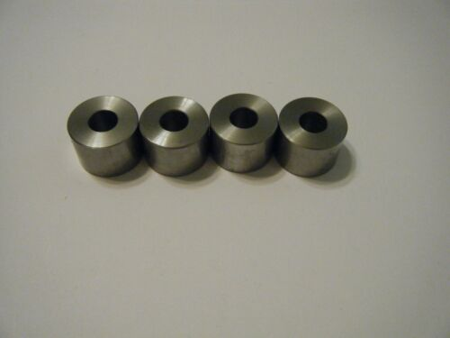 """1 1//4/""""o.d.x 1//2/"""" id x 1/"""" long Item 31 Round Steel Spacer pk of 4"""