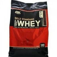 Optimum Nutrition 100% Gold Standard Whey Protein Delicious Strawberry 10 Lb Bag
