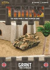Gale Force Nine BNIB TANKS British Grant Tank Expansion GFNTANKS38