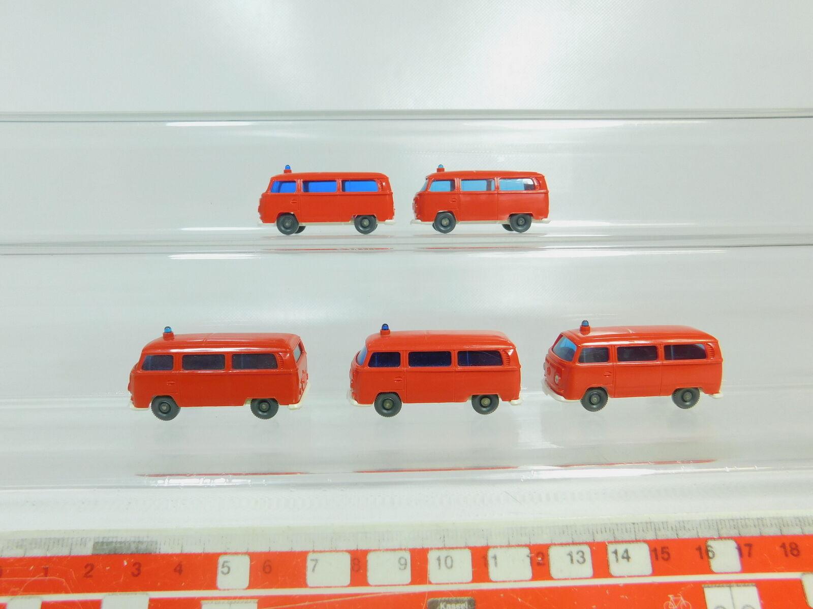 BO544-0,5 #5x Wiking H0 / 1:87 Fw Modèle Pompiers VW / Volkswagen T2, Très Bien | Matériaux De Grande Qualité  | Que Nos Produits Vont Dans Le Monde  | Mode  | à Gagnez Un Haut Admiration