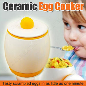 Egg Ceramic Microwave Egg Tastic Cooker And Poacher For