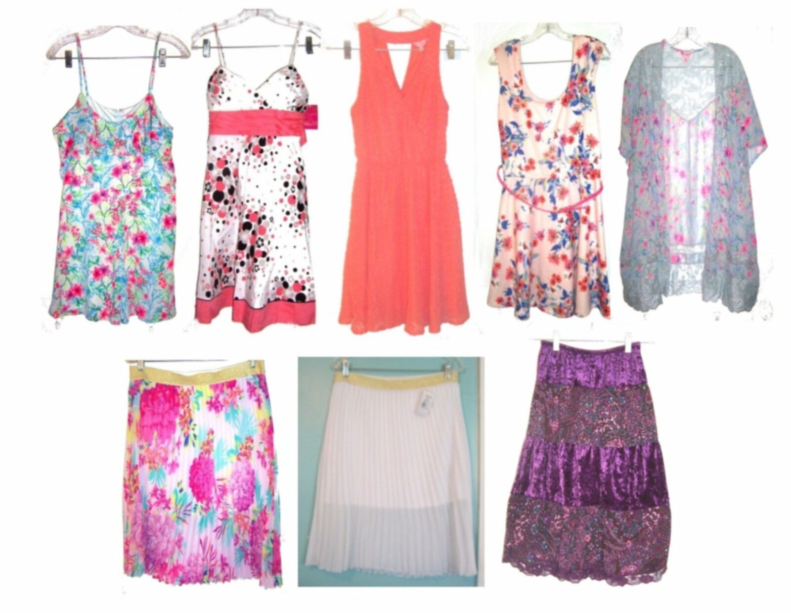Candie's Dresses, Sundresses, Skirts & Rompers NWT 40- 58 Size M to XL