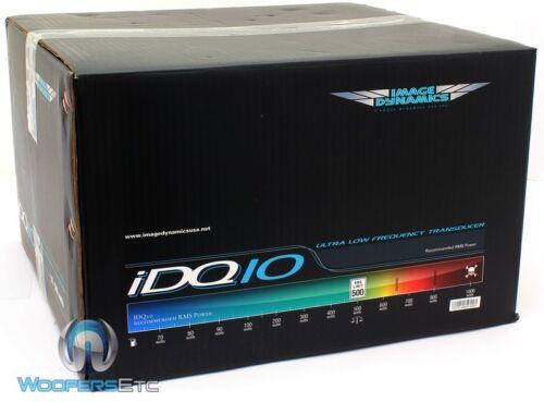 """IMAGE DYNAMICS IDQ10 V.4 D4 10/"""" SUB DUAL 4-OHM 1000W MAX SUBWOOFER SPEAKER NEW"""