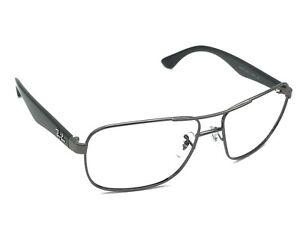 6d278a15ff Ray-Ban RB 3516 004 71 Gunmetal Black Aviator Sunglasses Frame Only ...