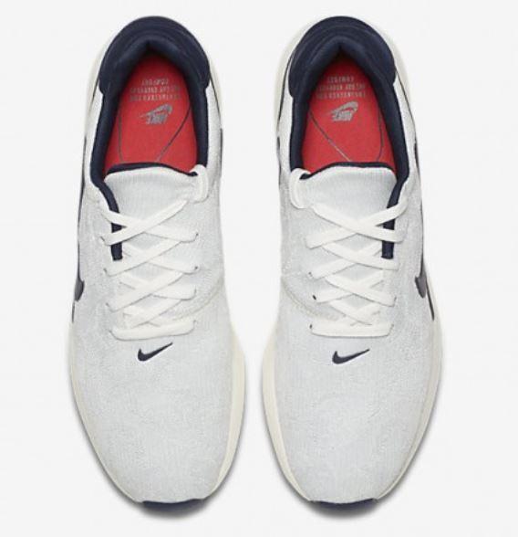 Nike Air Max blau Modern Flyknit Gr 40 blau Max weiss weiß rot 876066 100 1 90 95 d7fe02