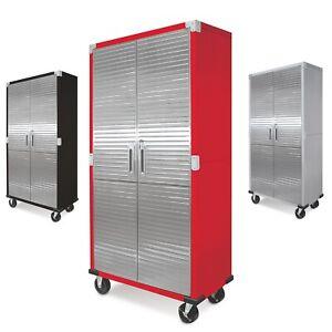 Seville Garage Metal Rolling Storage