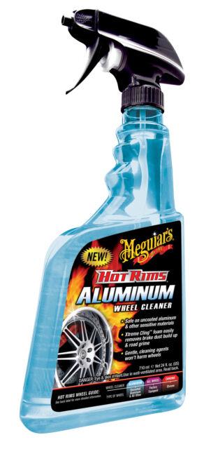Meguiars Hot Rims Aluminum Wheel Cleaner Felgenreiniger Reiniger G14324DE 710ml