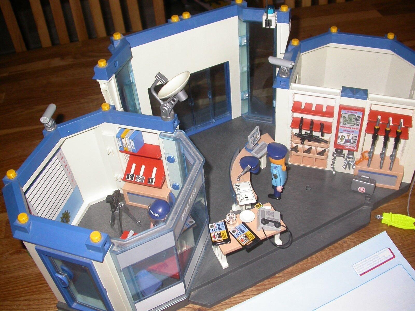Playmobil Polizei 4263 mit Zubehör 3655   4449   4265   4157