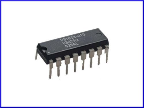 1 Stück DIP-16 IC Addressable Dual Digital Potentiometer 10K DS1803-010