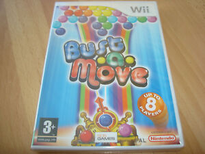 BUST-A-MOVE-NEW-amp-SEALED-Nintendo-Wii-Game