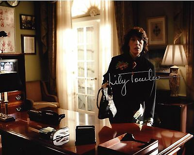Entertainment Memorabilia Amicable Actress Lily Tomlin Hand Signed The West Wing 8x10 Photo B W/coa Debbie Fiderer Television