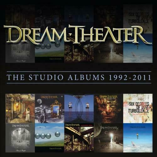 DREAM THEATER - THE STUDIO ALBUMS 1992-2011 USED - VERY GOOD CD