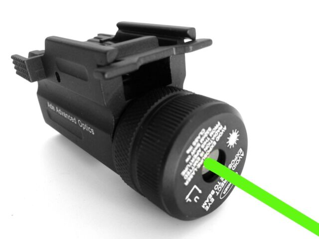 Ultra Compact Pistol Green Laser Sight for FN 9c Sig Mosquito S&w 40 Sdv90