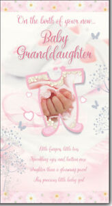 On the birth of your granddaughter hands design new baby birth image is loading on the birth of your granddaughter hands design m4hsunfo