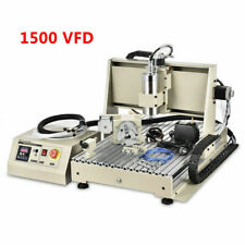 Usb Cnc 6040 Router Engraver 4axis 3d Metalwood Drilling Milling Machine 1500w