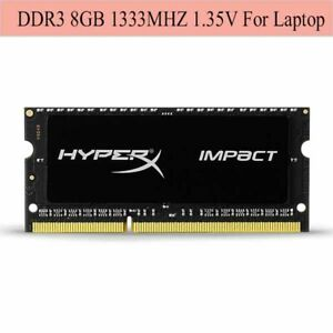 Pour-Kingston-HyperX-Impact-8GB-16GB-32GB-1333MHz-DDR3L-PC3L-10600S-Laptop-RAM-F