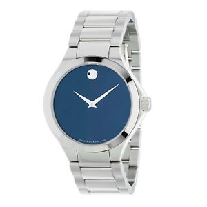Movado 0607311 Men's Defio Blue Quartz Watch