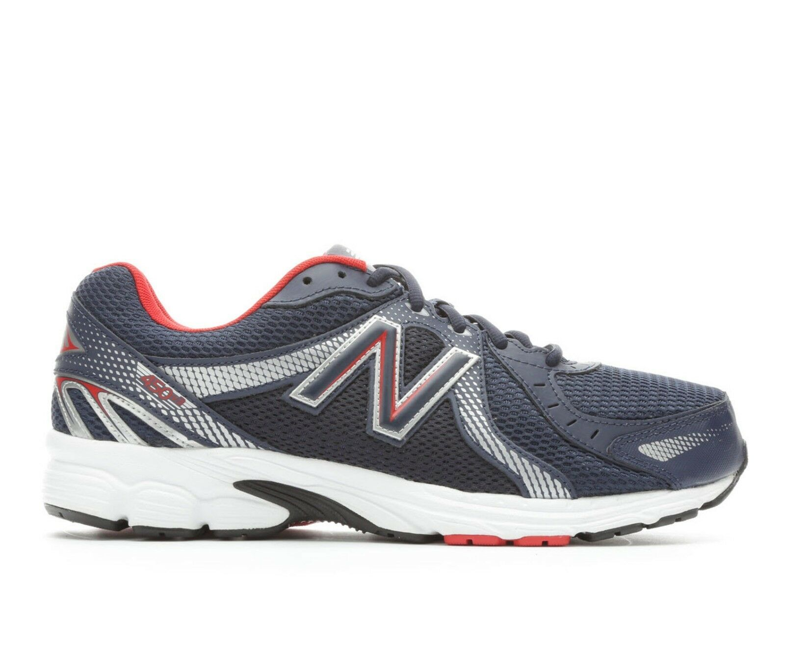 NIB hommes New Balance 450 V3 Running Chaussures Extra Wide 4E Medium Navy rouge