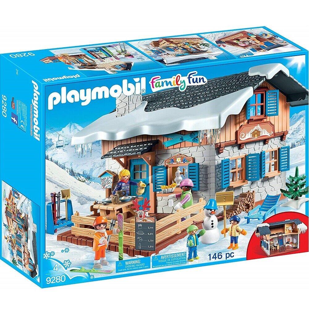 Playmobil Family divertimento 9280 Winter Sports  Ski Lodge giocattolo  il più alla moda