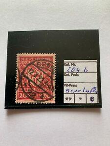 Deutsches Reich, Michel. n. 204 B, timbrato, esaminati inaspri