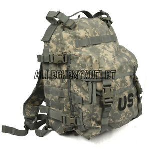 US ARMY ACU ASSAULT PACK 3 DAY MOLLE BACKPACK w  Stiffener FREE ... 0ca33dc7f63
