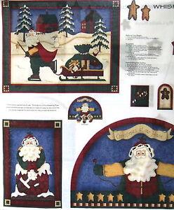 Cranston Whispering Pines Christmas Stocking Cotton Fabric craft panel