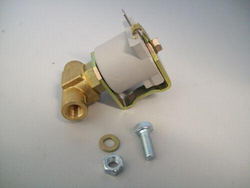 LPG Conversion Under bonnet Inline Petrol Fuel Lock Off Solenoid Valve
