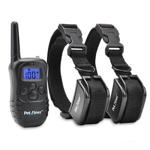 Petrainer-Dog-Training-Shock-Collar-with-Remote-Rechargeable-E-Collar-for-2-Dogs
