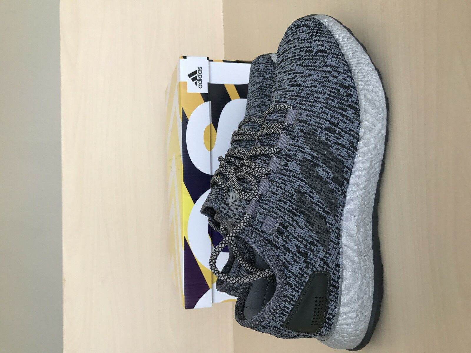 Adidas PURE US BOOST 100% Authentic Grey US PURE 7 0c1cbf