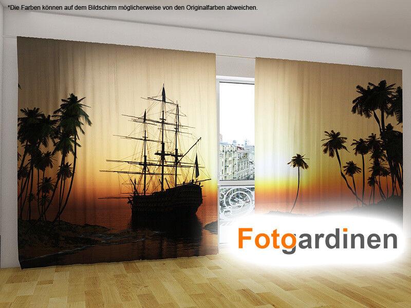 Fotogardinen SegelStiefel, Vorhang Vorhang Vorhang mit Motiv, Fotovorhang, auf Maß | Einfach zu spielen, freies Leben  21f858