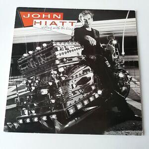 John-Hiatt-Riding-with-the-King-Vinyl-LP-UK-1st-Press-1983-EX