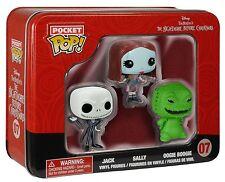 Funko - Pocket POP: Nightmare Before Christmas 3 Pack Tin - Jack, Sally, Oogie