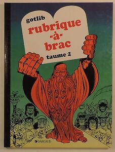 Rubrique-a-Brac-2-ed-Dargaud-1990-Reedition-TBE