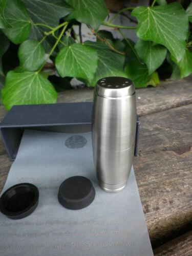 Pepper mill y salero en un acero inoxidable bolsillos formato 7,5 cm li38