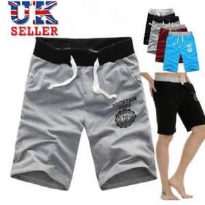 Men-039-s-Elastic-Shorts-Gym-Jogging-Running-Training-Sports-Boxer-Casual-Beach-Pant
