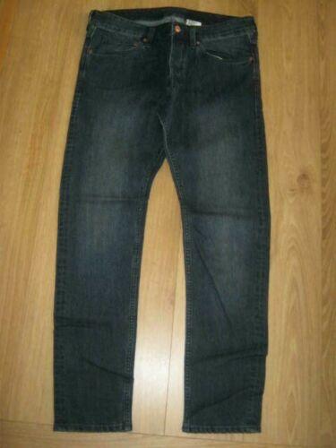 "H /& M skinny fit navy jeans 32"" waist 30/"" Leg bnwot"