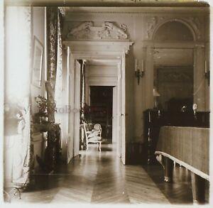Francia Casa Bourgeois Ca 1910 Foto Stereo Placca Da Lente VR12f