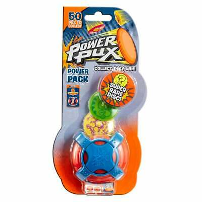 Power Pux Starter Pack Series 1 Blind Bag inc 5 Discs and 1 Slide Launcher