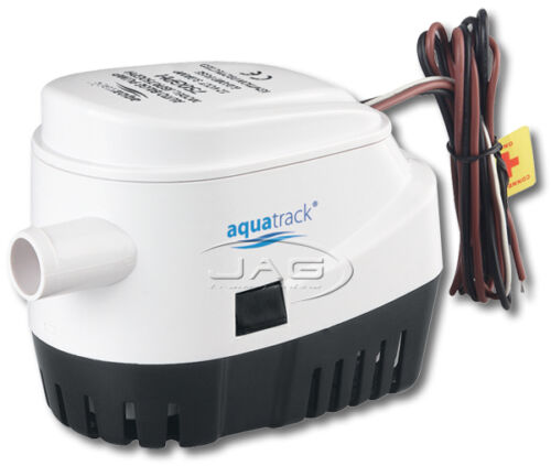12V AUTOMATIC SUBMERSIBLE BOAT BILGE WATER PUMP 750GPH with AUTO FLOAT SWITCH