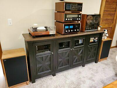 Custom Made Walnut Speaker Stands for Klipsch Heresy I/'s II/'s and III/'s