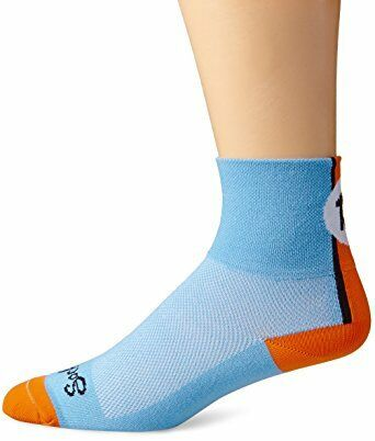 "Classic 3/"" Lucky 13 S//M Cycling//Running SockGuy Socks"