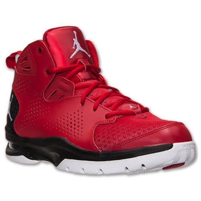 JORDAN ACE 23 II RED BLACK WHITE BASKETBALL 644773-601 Sz 18 Brand discount