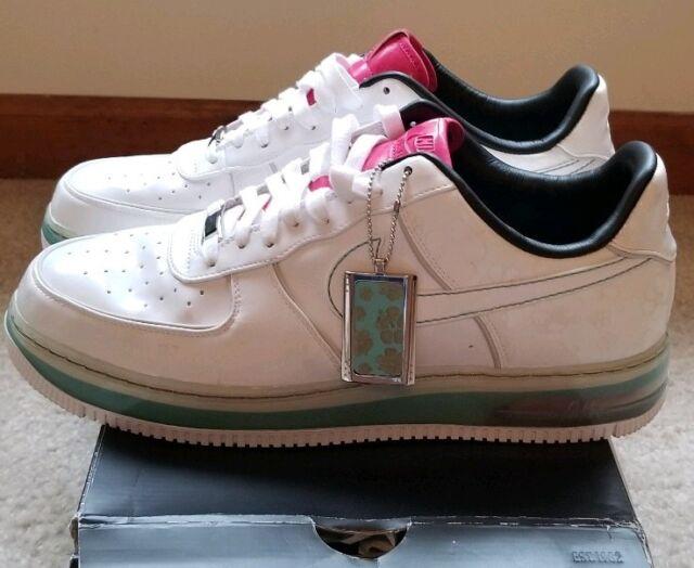 buy popular dfeb1 a3963 Nike air Force 1 Supreme Max Air 07 Size 12 White Aqua (316666 111)