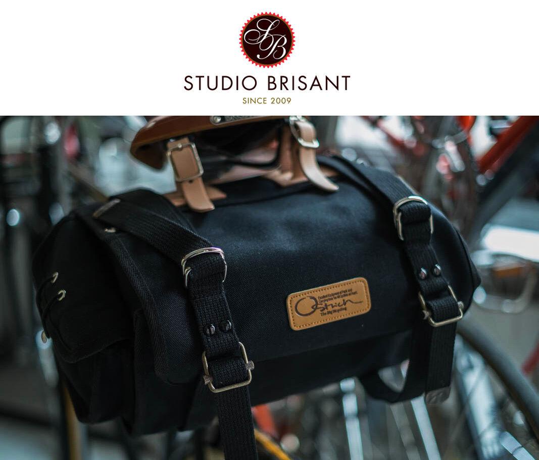 OSTRICH Saddle Bag S-2 Satteltasche in green oder black