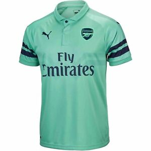 3b285d9c723 Official Puma Arsenal Gunners Junior Kid Youth 3rd Football shirt ...
