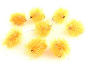 UV-Supersoft-Fritz-Blobs-Fluo-Orange-Still-water-Fly-Fishing-Lures-Flies