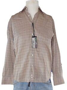 super popular 5976a 4439c Dettagli su oviesse camicia classica uomo beige regular manica lunga taglia  39 40 m medium
