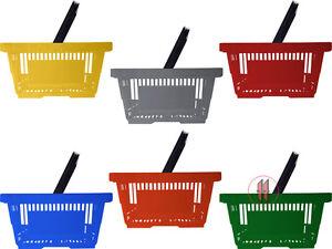 Pflichtbewusst Einkaufskörbe Kunststoffkörbe Mit 1 Henkel/bügelgriff Neu Durchblutung GläTten Und Schmerzen Stoppen Business & Industrie