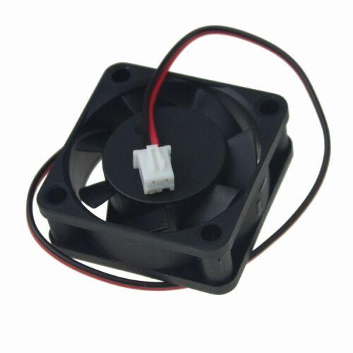 2 Pcs 24V 40mm 40x40x15mm Brushless PC CPU Computer 3D Printer Cooling Fan 2pin