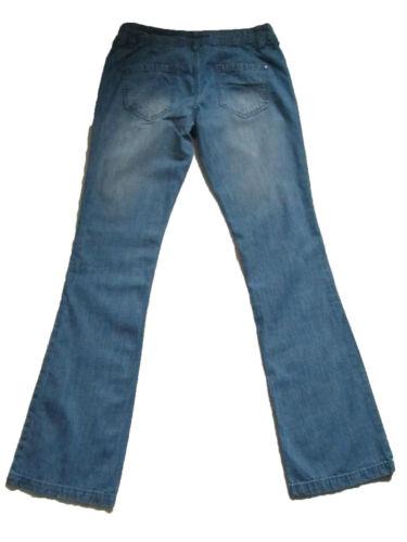 NUOVA linea donna Jeans Bootcut Blu Next Taglia 12 10 8 di lunghezza regolare